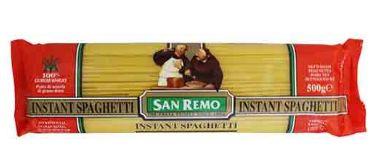 San Remo Instant Spaghetti (NO.3) 500G