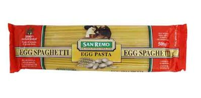 San Remo Egg Spaghetti (No 7) 500G
