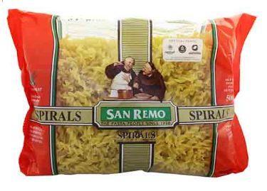 San Remo Pasta Spiral (No 16) 500G