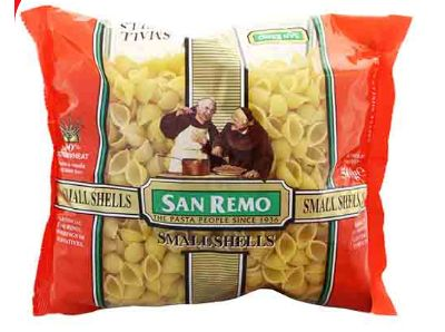 San Remo Pasta Small Shell (No 28) 500G