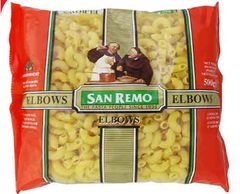 San Remo Pasta Elbow (No 35) 500G