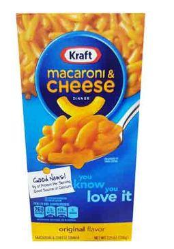 Kraft Macaroni&Cheese 206G