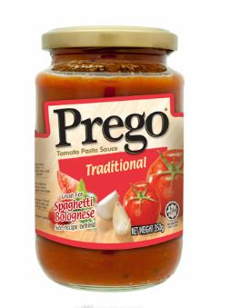 Prego Traditional Pasta Sauce 350G