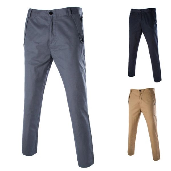 Korean Solid Color Casual Pants