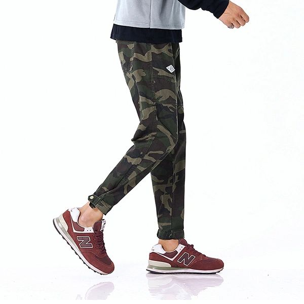 Hot Selling Camouflage Youthful Harem Pant