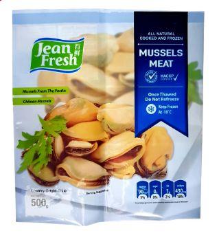 JF Frozen Mussel Meat 500G