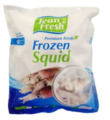 J/Fresh Frozen Squid Ring W/Head 550G