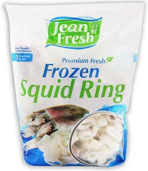 Frozen Squid Ring W.Head 1KG