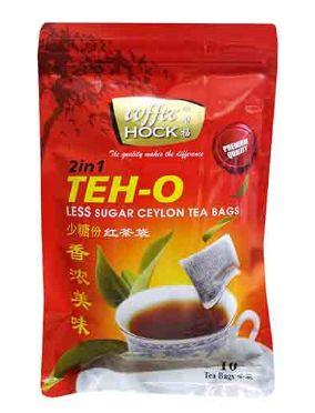 Coffee Hock 2in1 Teh O Ls Ctb 10X12G