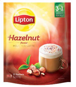 Lipton Milk Tea Hazelnut 12X21G