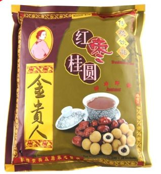 Mdm Kim R/Date&Longan Tea 18X18G
