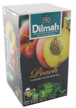Dilmah F/Env T/Bag-Pc Peach 20X2G