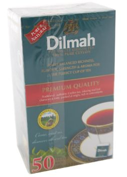 Dilmah 82943ST Premium TEA(TAG)50SX2G