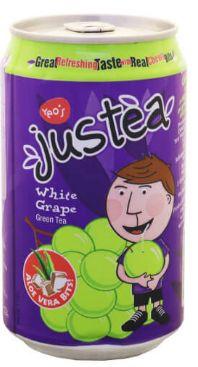 Justea G/Tea+A/V+W/Grape 300ML