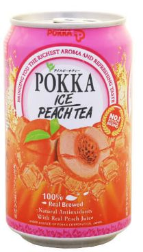 Pokka Peach Tea 300ML