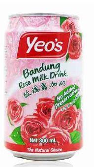 Yeo's Bandung Rose Milk Drk 300ML