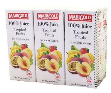 Marigold 100%TROPICAL Fruits 6X250ML