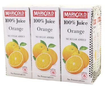 Marigold 100%ORANGE 6X250ML