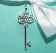 Fashion Key Pendant Celebrity Necklace
