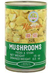 Narcissus Mushrooms Pcs & Stems 425G