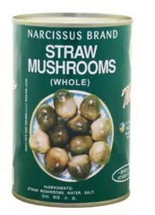 Narcissus Straw Mushrooms 425G