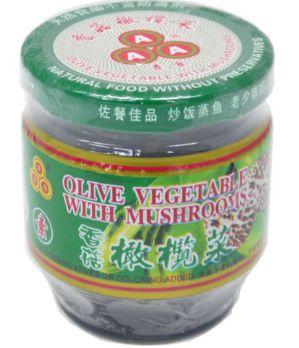 AAA Olive Veg W/Mushroom 170G