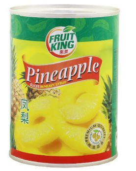 Fruit King Pineapple Slice IN Syrup 565G