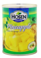 Hosen Pineapple Cubes 565G