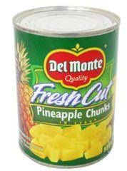 Delmonte F/Cut P'apple Chunks 567G
