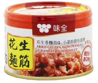 Wei-Chuan Fried Gluten/Peanuts 170G