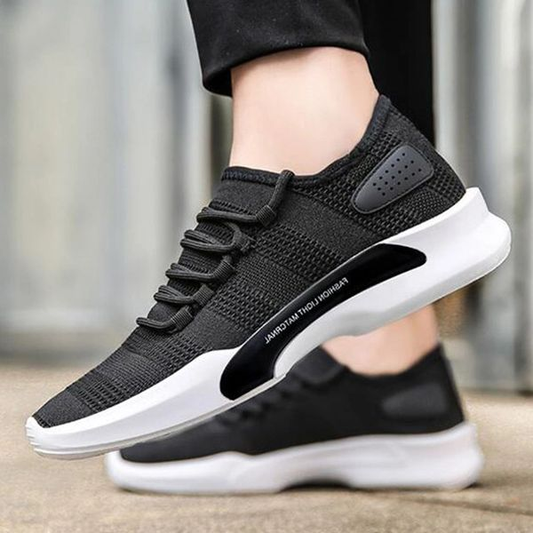 Casual Breathable Lace Up Sneakers Running Shoes