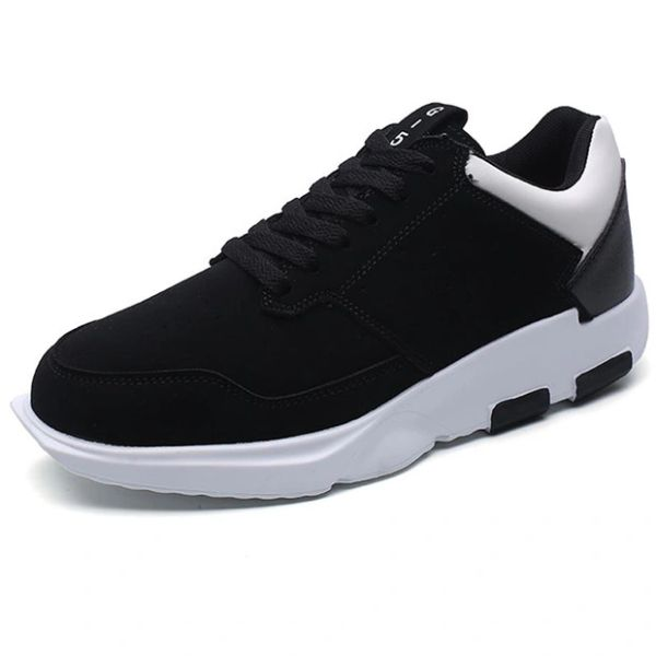 Hot Selling Color Block Lace Up Sneakers For Men