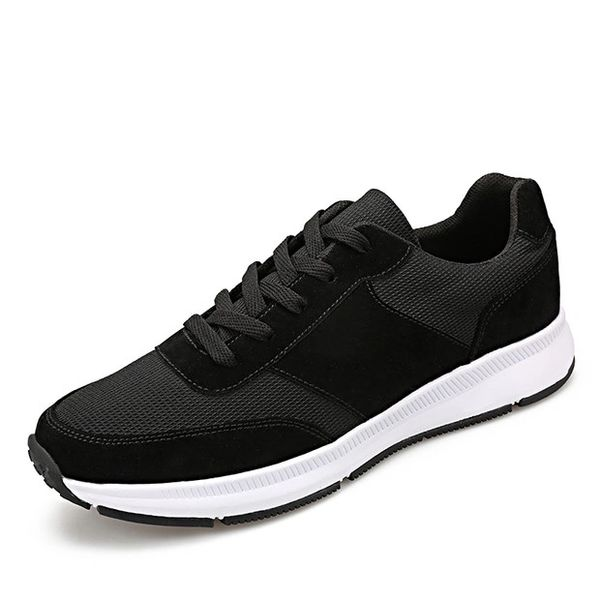 Breathable Patchwork Men Lace Up Sneakers