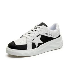 Star Color Block Fashion Men Sneakers