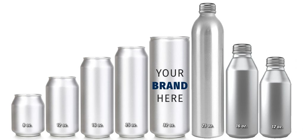 Beverages in Aluminum Cans | Aluminum Can Private Labeling in Los Angeles, CA