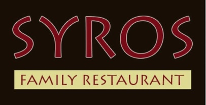 Syros Restaurant  TAKEOUT AND DELIVERY ONLY