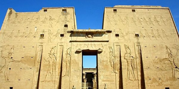 Temple of Horus Edfu