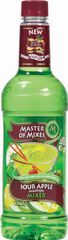 Master of Mixers Sour Apple Martini