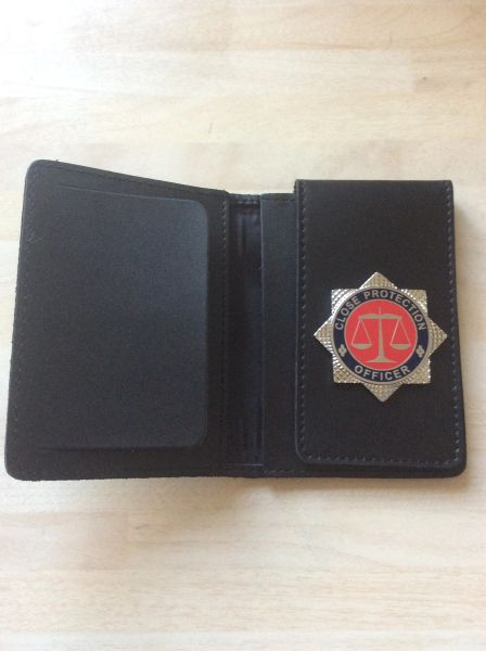 Close Protection Officer ID card wallet (deluxe version)