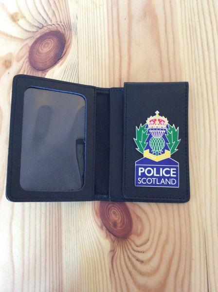 Police Scotland badged warrant card wallet