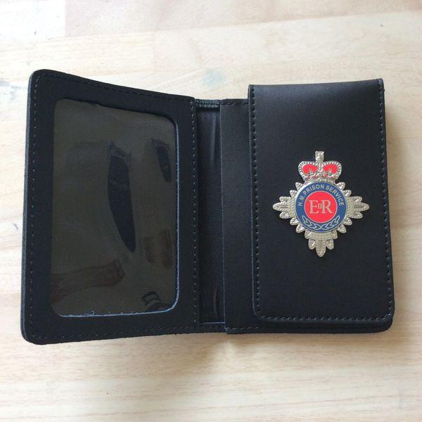 HMP badged ID card wallet version 2