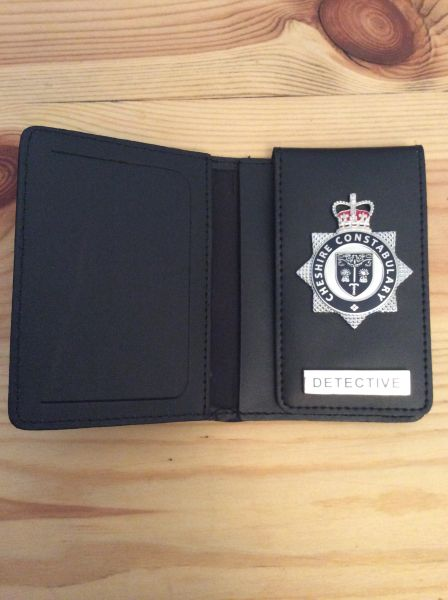 Cheshire Constabulary Detective wallet