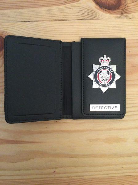 Cleveland Police Detective warrant card wallet