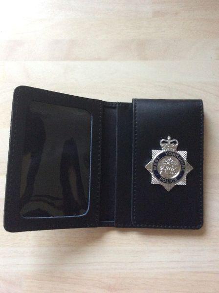 West Yorkshire police badged warrant card wallet #2