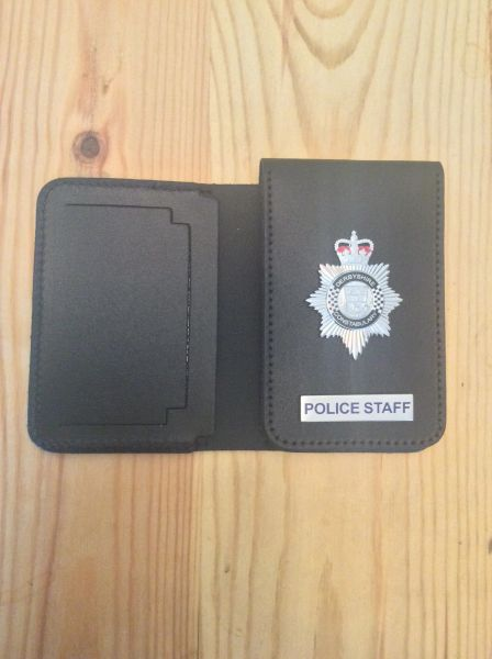 Derbyshire Constabulary Police Staff ID card wallet