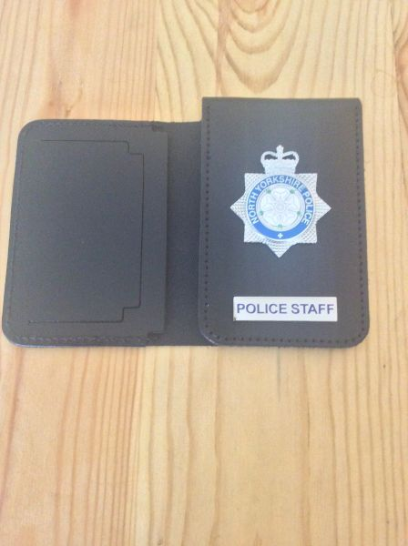 North Yorkshire Police Staff ID card wallet