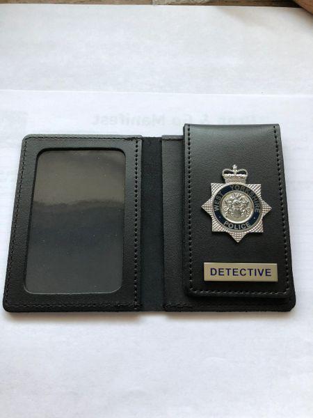 West Yorkshire Police Detective wallet