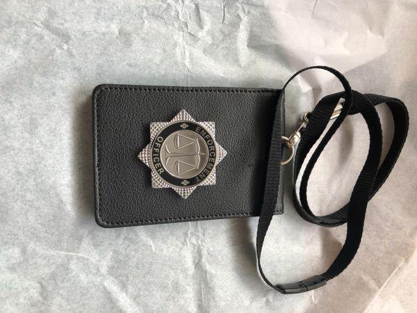 Enforcement Officer neck holder