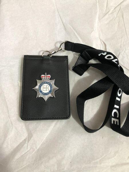 Nottinghamshire Police badged neck wallet-#2