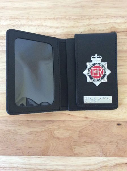 Greater Manchester Police Wallet with Braille version 2